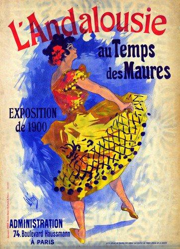 Land A Lousie | Jules Cheret | oil painting