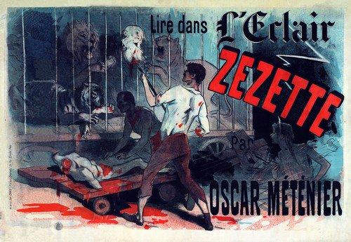 Zezette | Jules Cheret | oil painting