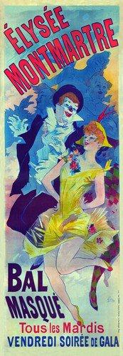 Elysee Montmarte | Jules Cheret | oil painting