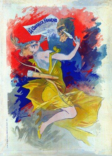 Le Courrier Francis | Jules Cheret | oil painting