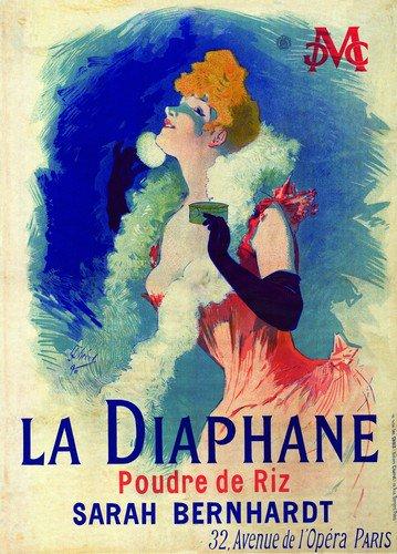 La Diaphane | Jules Cheret | oil painting