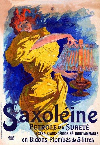 Saxoleine Petrole De Surete | Jules Cheret | oil painting