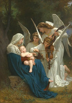 Virgin of the Angels | William Bouguereau | oil painting