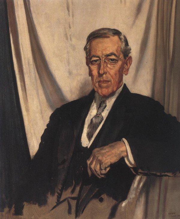Woodrow Wilson 1919 | Sir William Orpen | oil painting