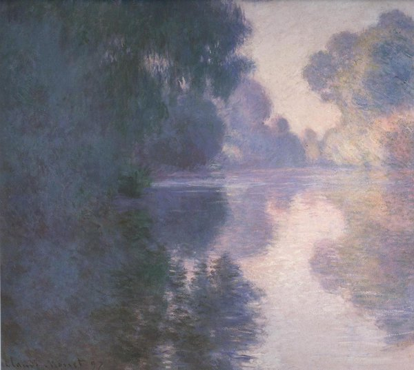 Morning On The Seine Good Weather 1897 1 | Claude Monet | oil painting