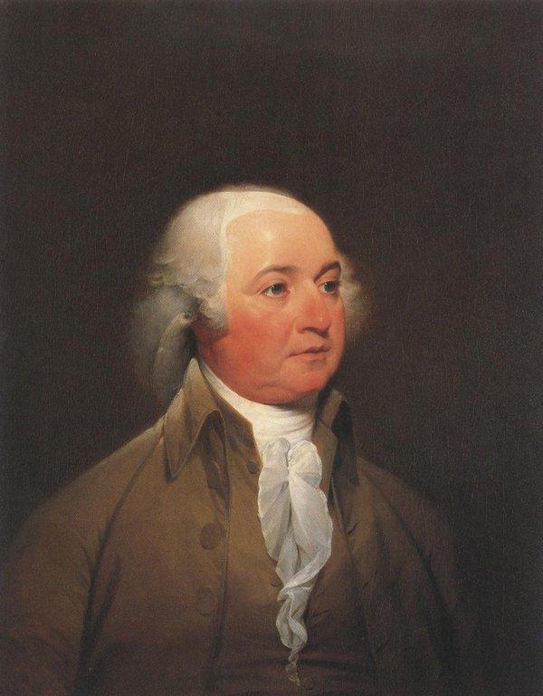 John Adams 1792 93 | John Trumbull | oil painting