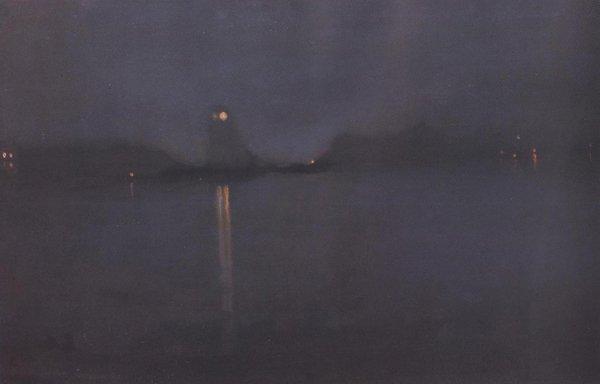 Nocturne 1870 77 | James Abbott Mcneill Whistler | oil painting