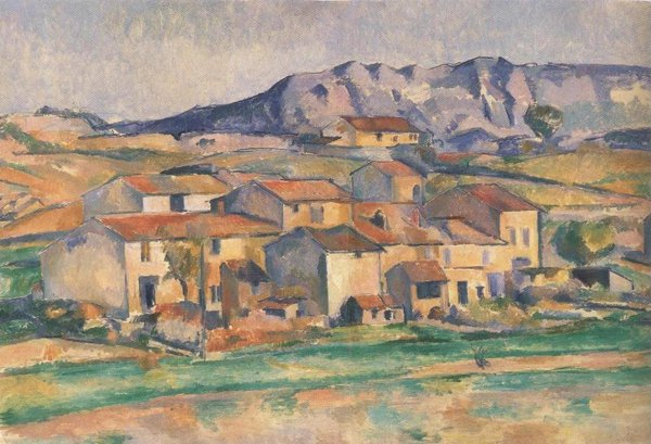 Mont Sainte Victoire And Hamlet Near Gardanne 1886 90 | Paul Cezanne | oil painting