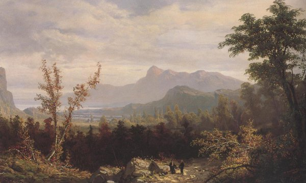 In The White Mountains New Hampshire 1876 | William Louis Sonntag | oil painting