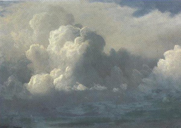 Storm Clouds 1880   Albert Bierstadt   oil painting