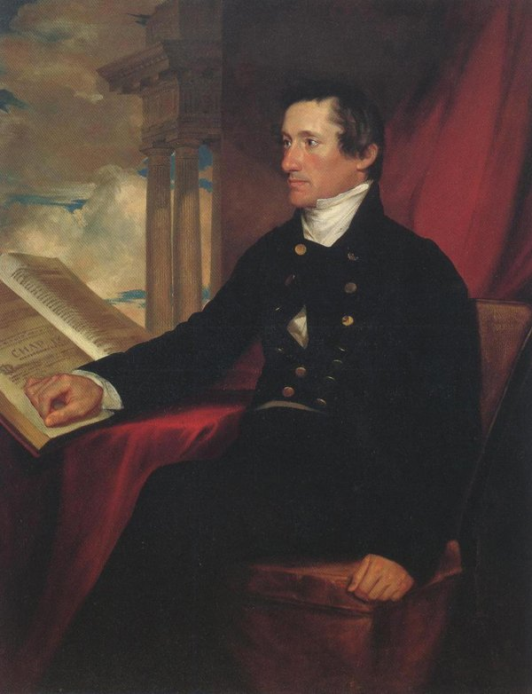 Colonel William Drayton 1818 | Samuel Finley Breese Morse | oil painting