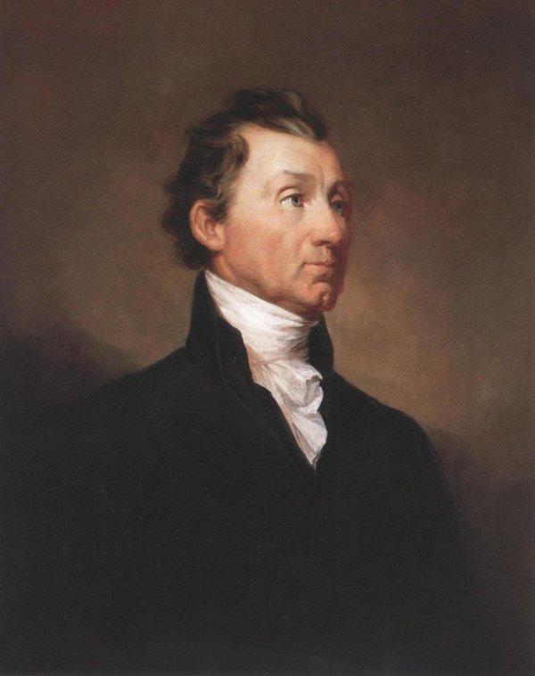 James Monroe 1819 | Samuel Finley Breese Morse | oil painting