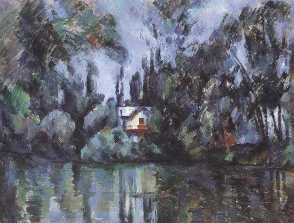 House On The Marne 1888 90 | Paul Cezanne | oil painting