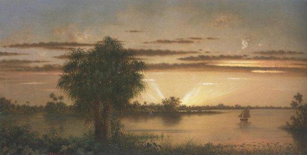 Florida Sunrise 1890 1900 | Martin Johnson Heade | oil painting