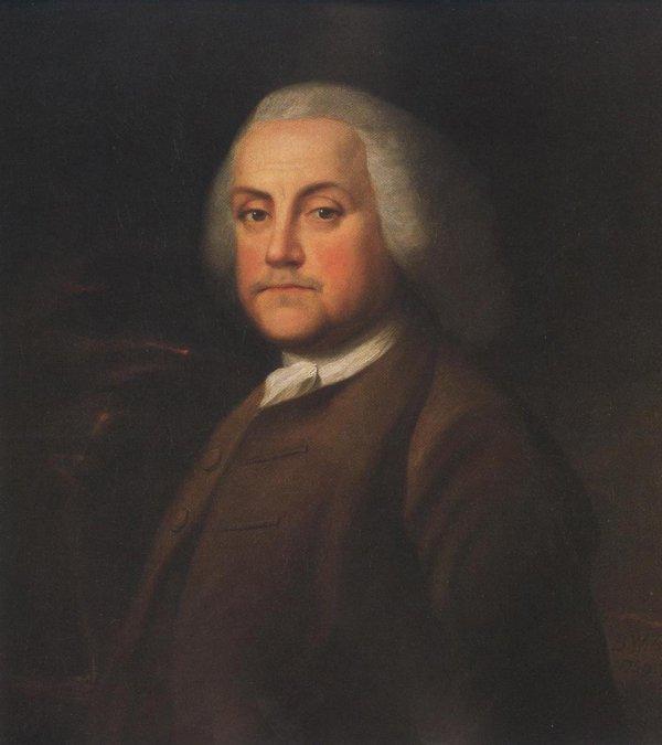 Benjamin Franklin 1759 | Benjamin Wilson | oil painting