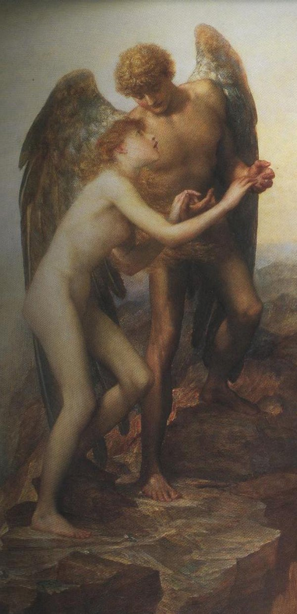 Love And Life | George Frederick Watts | oil painting