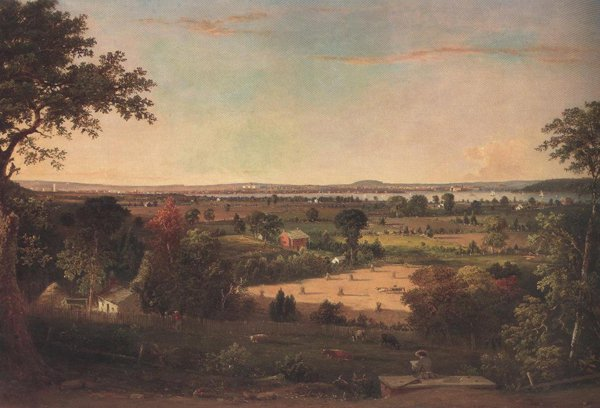 View Of The City Of Washington From The Virginia Shore 1856 | William Macleod | oil painting