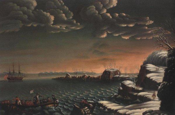 Landing Of The Pilgrims 1803 07 | Michele Felice Corne | oil painting