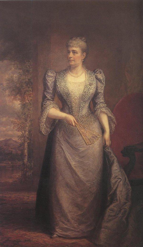 Caroline Scott Harrison 1894 | Daniel Huntington | oil painting