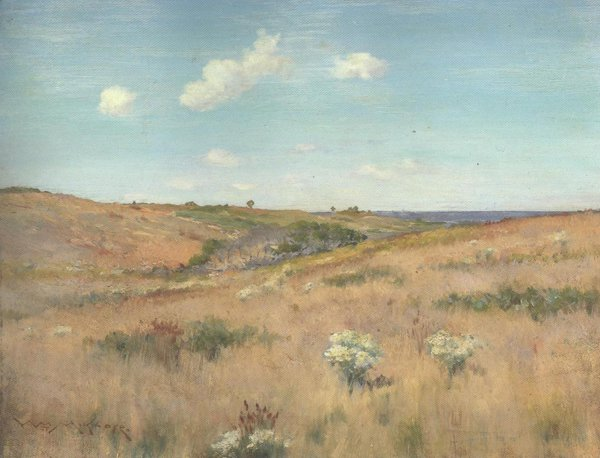 Shinnecock Hills Long Island 1900   William Merritt Chase   oil painting