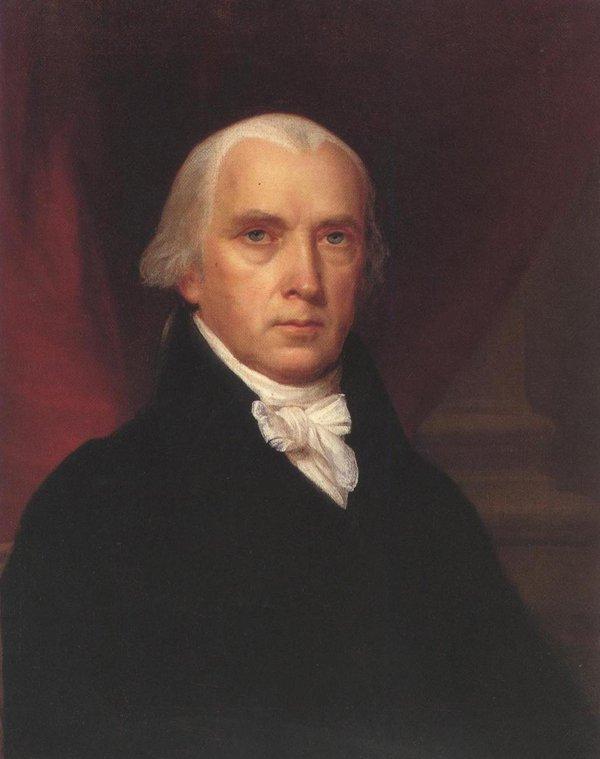 James Madison 1816   John Vanderlyn   oil painting