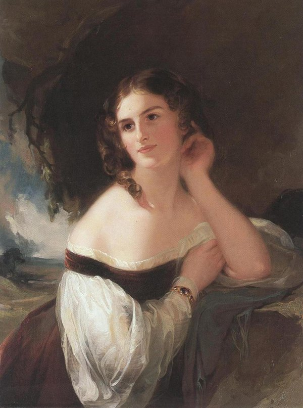 Fanny Kemble 1834 | Thomas Sully | oil painting