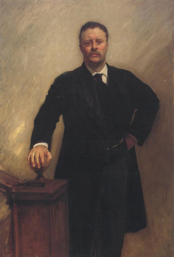 Theodore Roosevelt 1903 | John Singer Sargent | oil painting