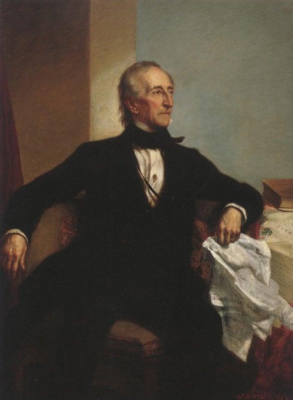 John Tyler 1859 | George Peter Alexander Healy | oil painting