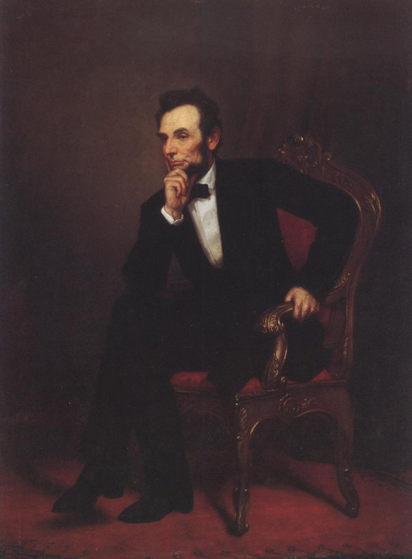 Abraham Lincoln 1869 | George Peter Alexander Healy | oil painting