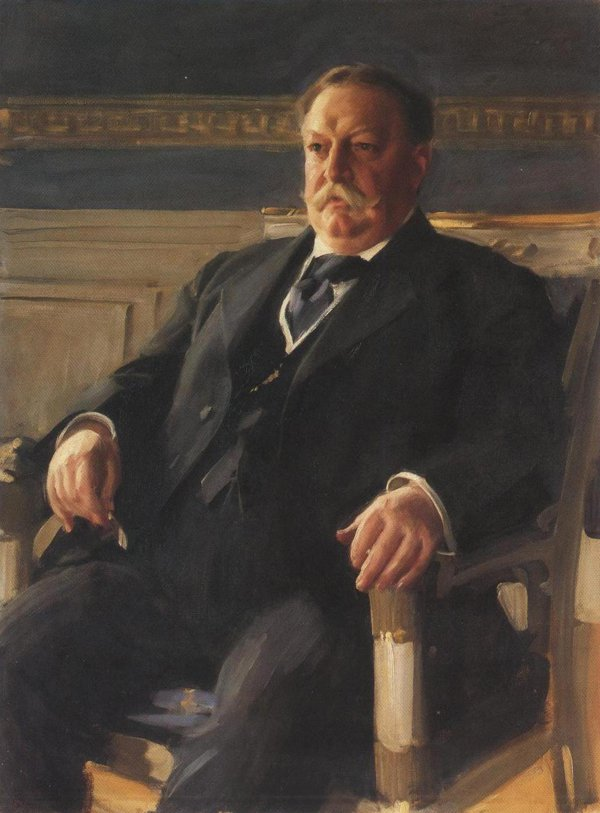 William Howard Taft 1911 | Anders Leonard Zorn | oil painting