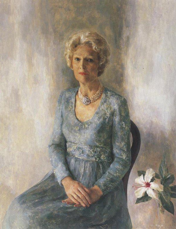 Patricia Ryan Nixon 1978 | Henriette Wyeth | oil painting