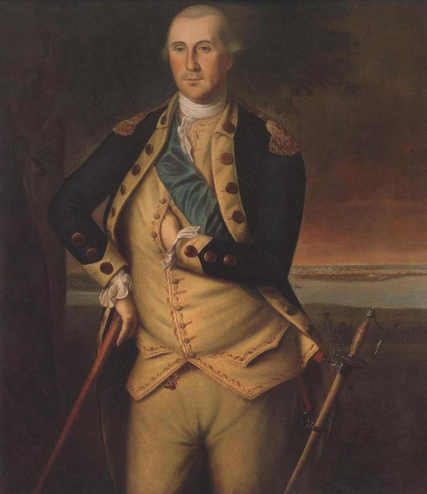 George Washington 1776 | Charles Willson Peale | oil painting