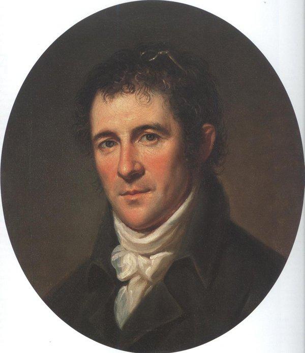 Benjamin Henry Latrobe 1804 | Charles Willson Peale | oil painting