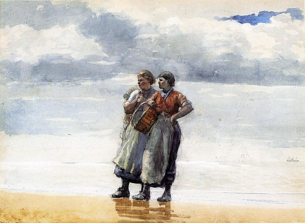 Daughters of the Sea | Winslow Homer | oil painting