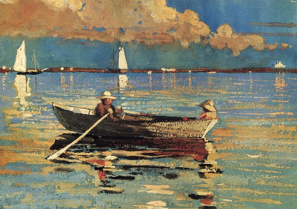 Gloucester Harbor | Winslow Homer | oil painting