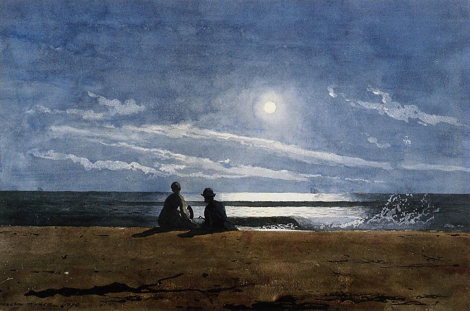 Moonlight | Winslow Homer | oil painting