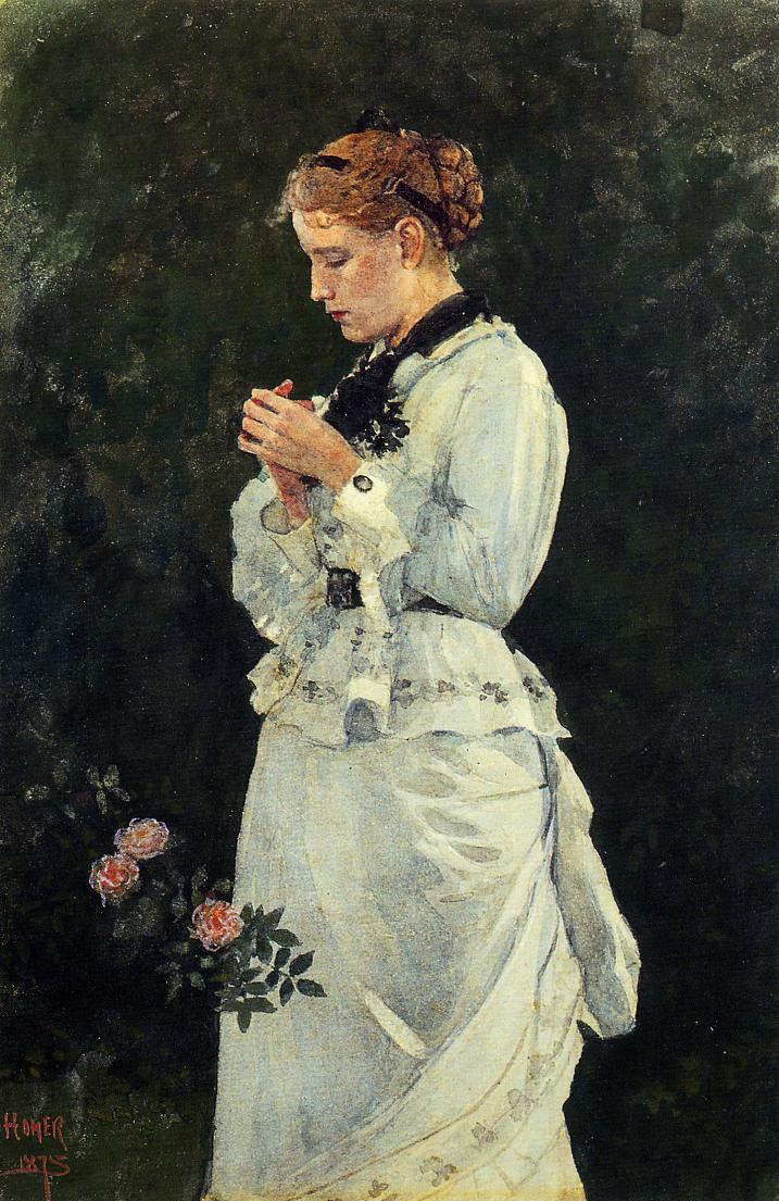 Portrait of a Lady | Winslow Homer | oil painting