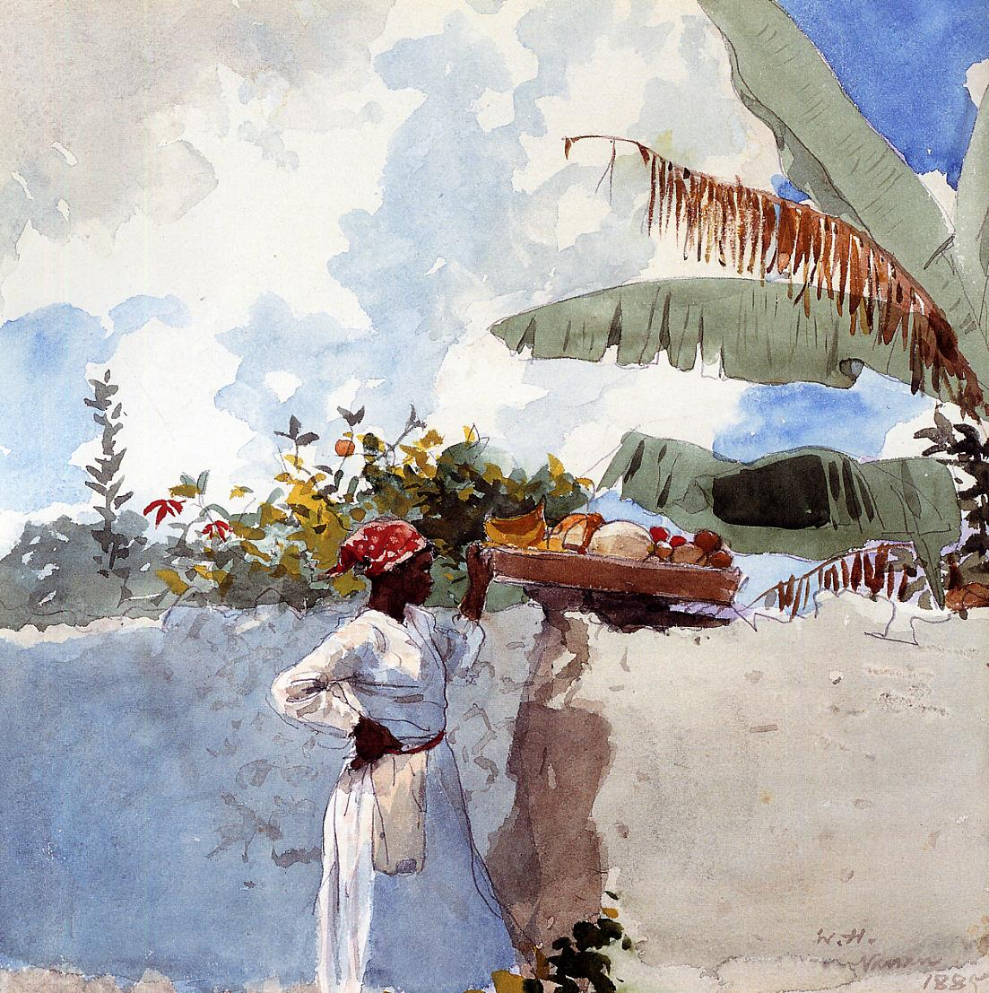 Rest | Winslow Homer | oil painting