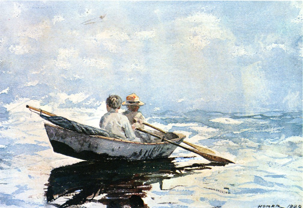 Rowboat | Winslow Homer | oil painting