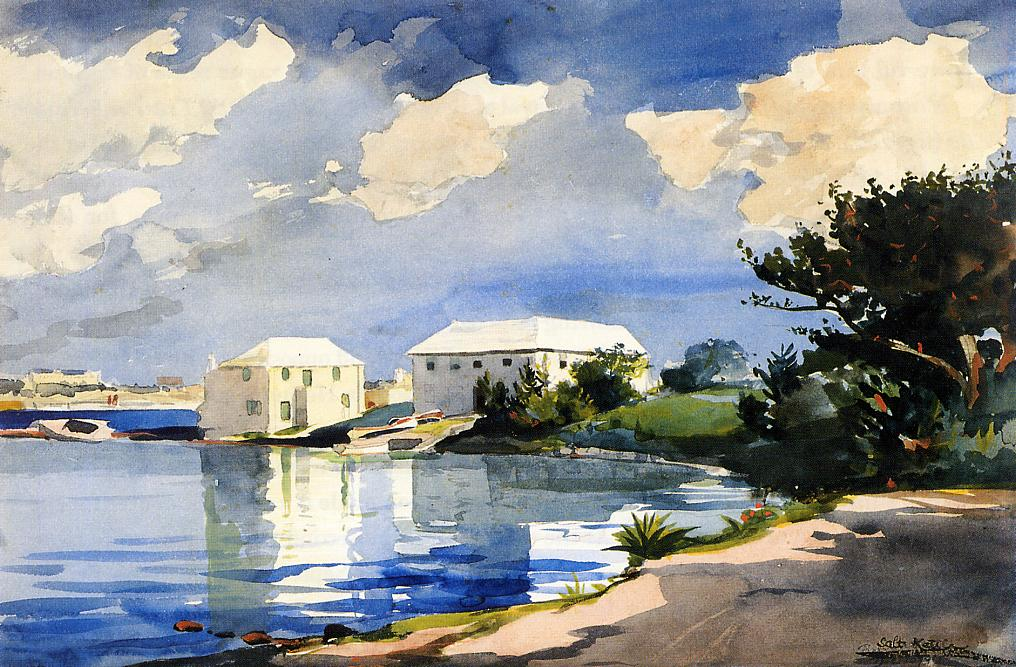Salt Kettle Bermuda | Winslow Homer | oil painting