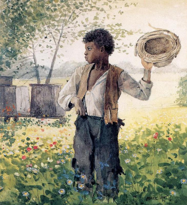 The Busy Bee | Winslow Homer | oil painting