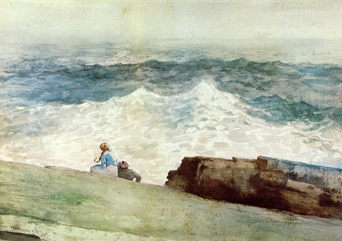 The Northeaster | Winslow Homer | oil painting