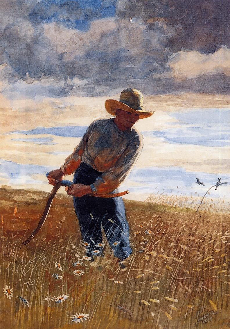 The Reaper | Winslow Homer | oil painting