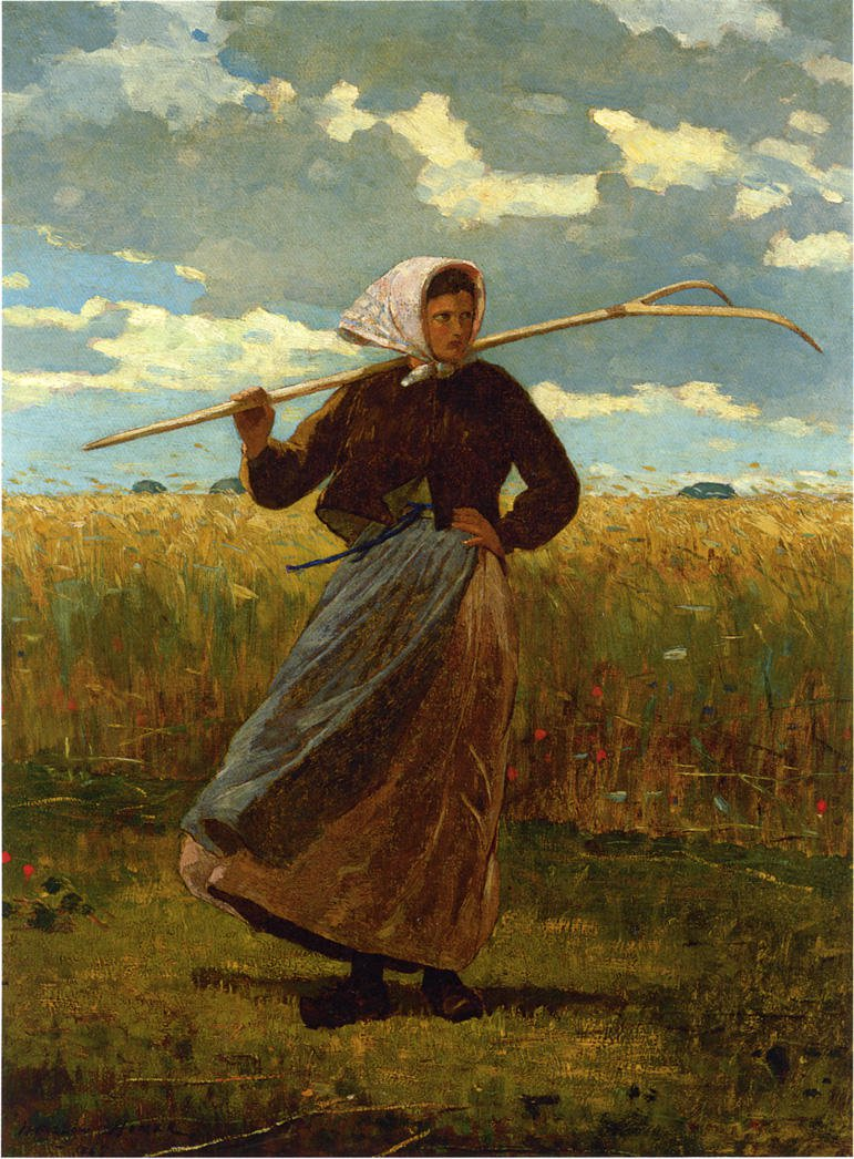 The Return of the Gleaner | Winslow Homer | oil painting