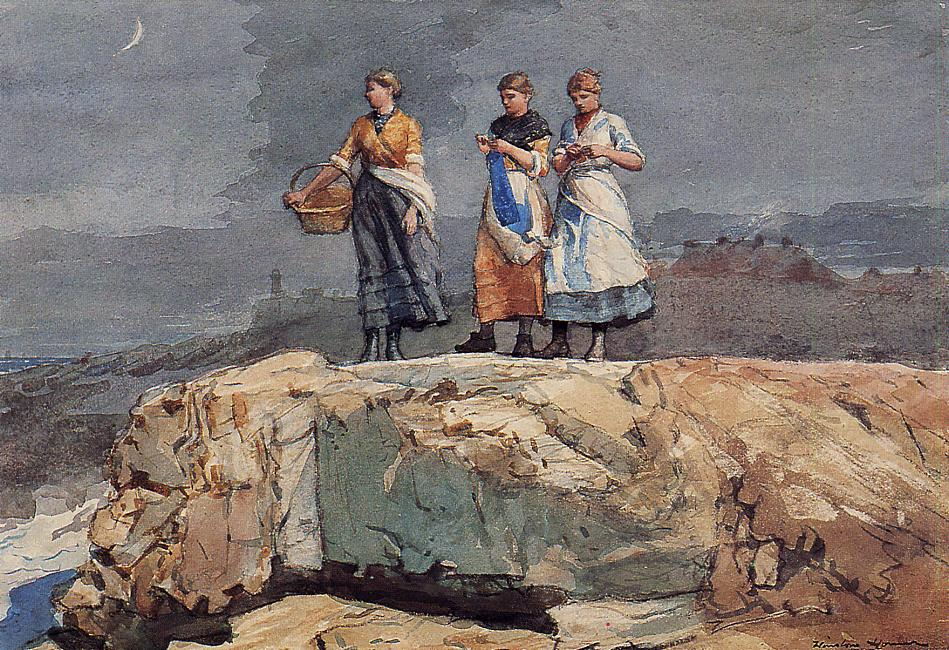 Where are the Boats | Winslow Homer | oil painting
