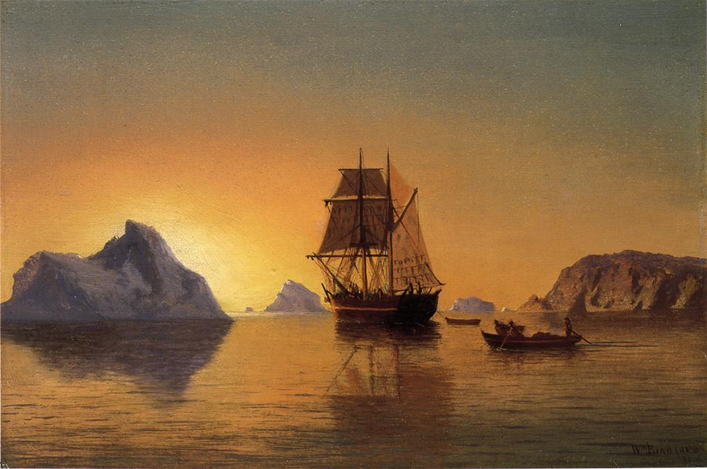 An Arctic Scene | William Bradford | oil painting