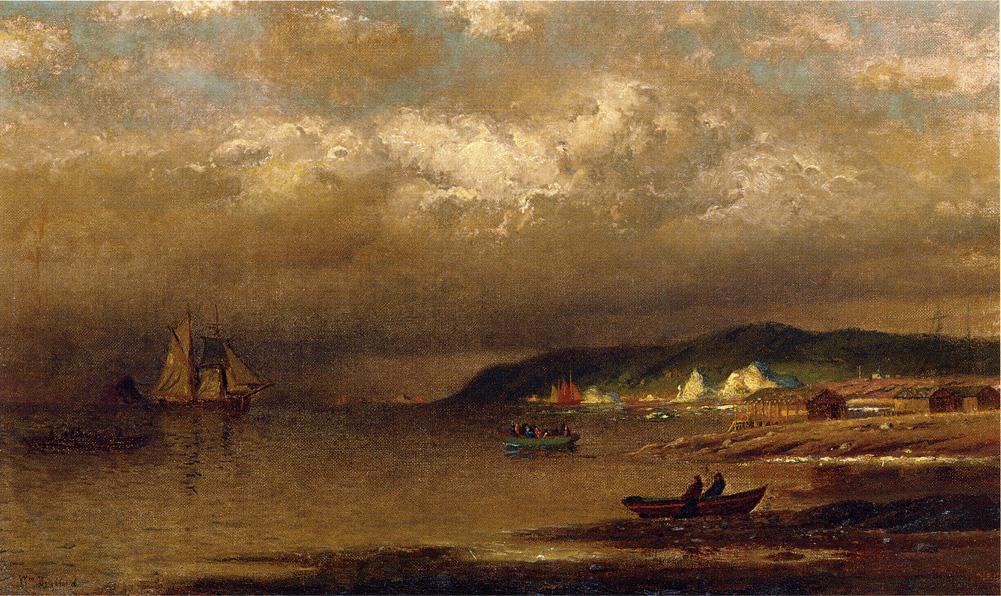 Coast of Newfoundland | William Bradford | oil painting