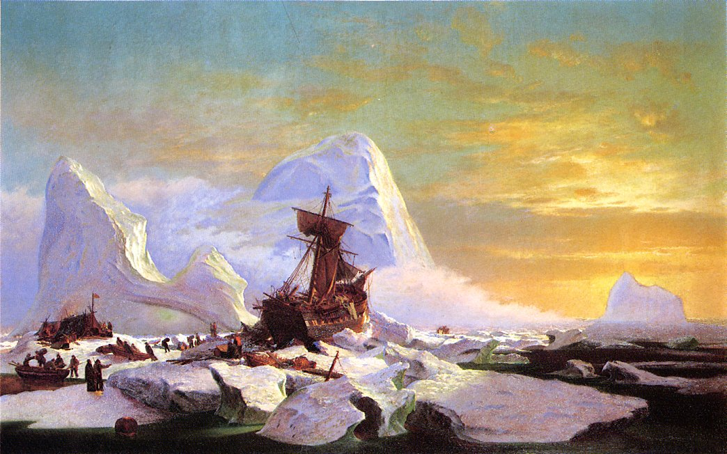 Crushed in the Ice | William Bradford | oil painting