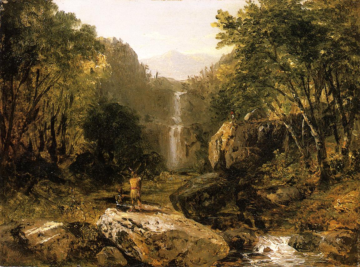 Catskill Mountain Scenery | John Frederick Kensett | oil painting