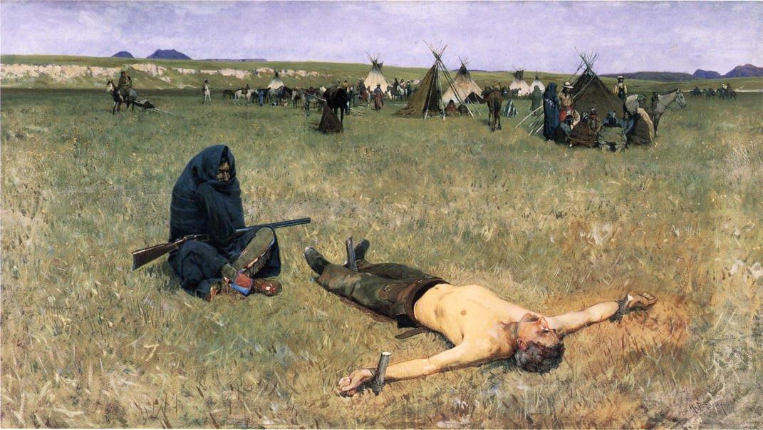 The Captive | Henry Farny | oil painting